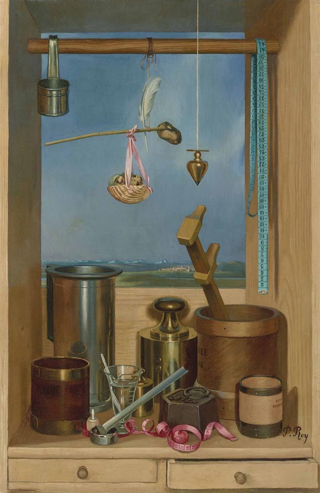 Pierre Roy-Composition Aux Poids Et Mesures-1933