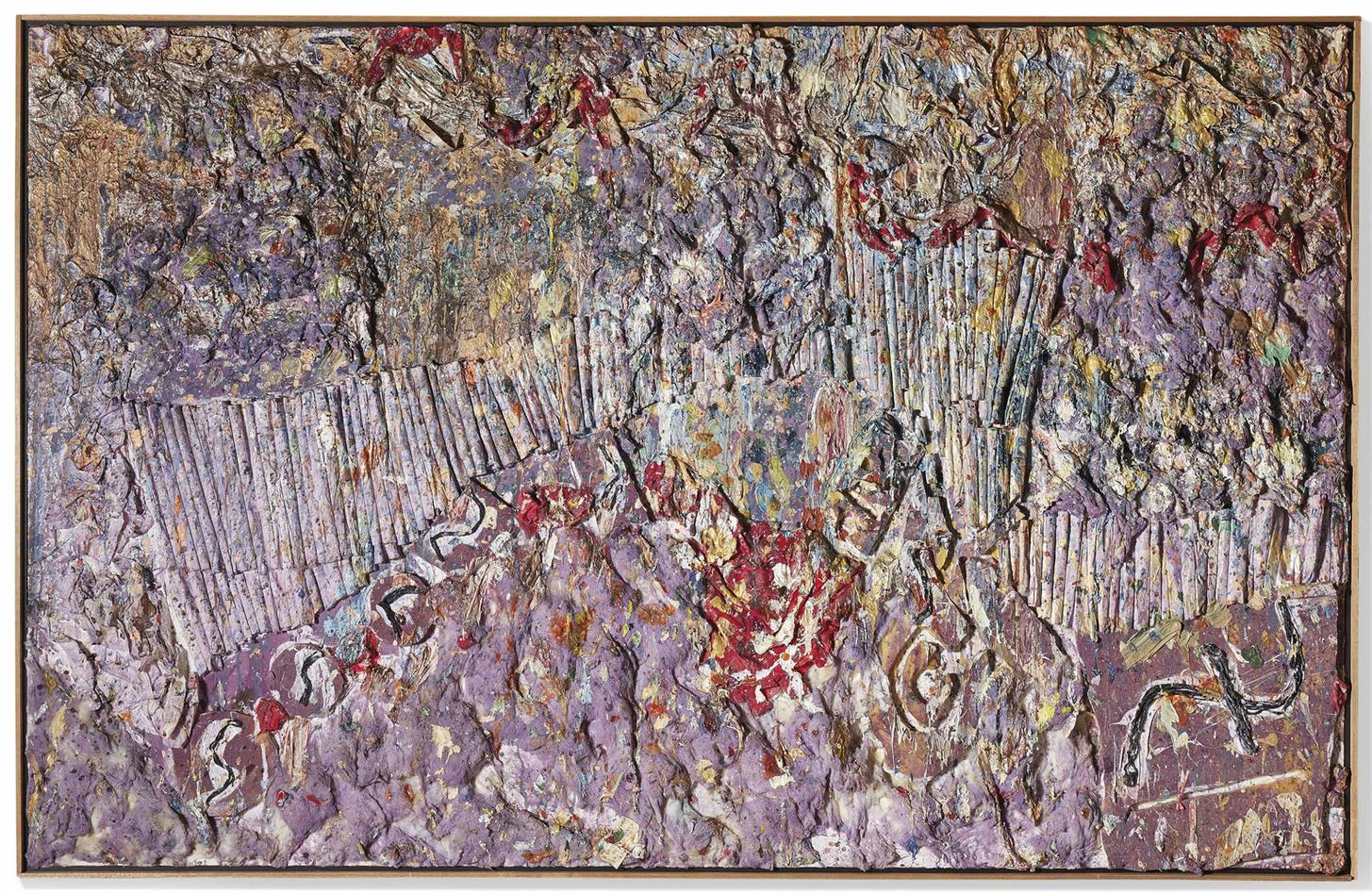 Larry Poons-Rock In Doopsie-1989