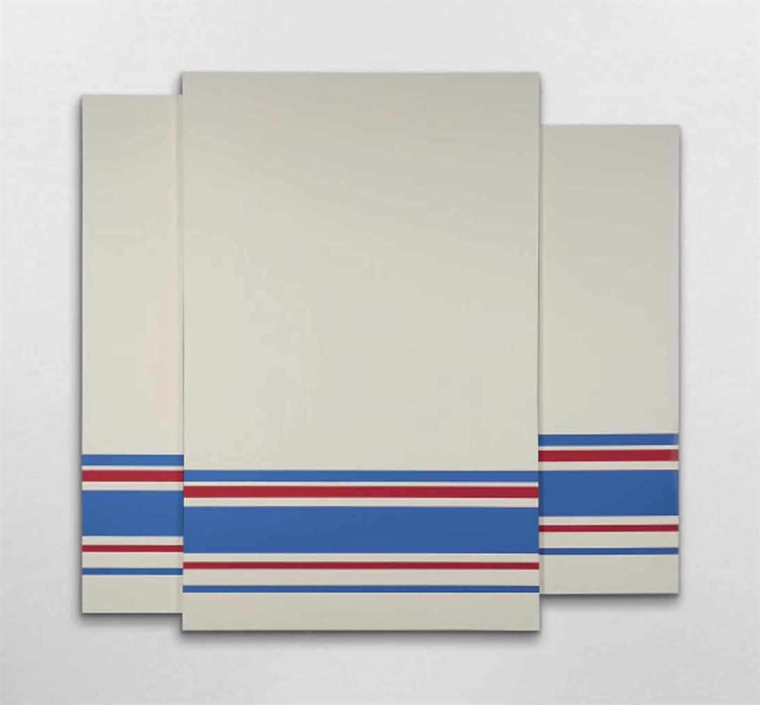 Mathieu Mercier - Sans Titre (Lascaux 944/924 Sur Fond Unik 012- 1A)-2014