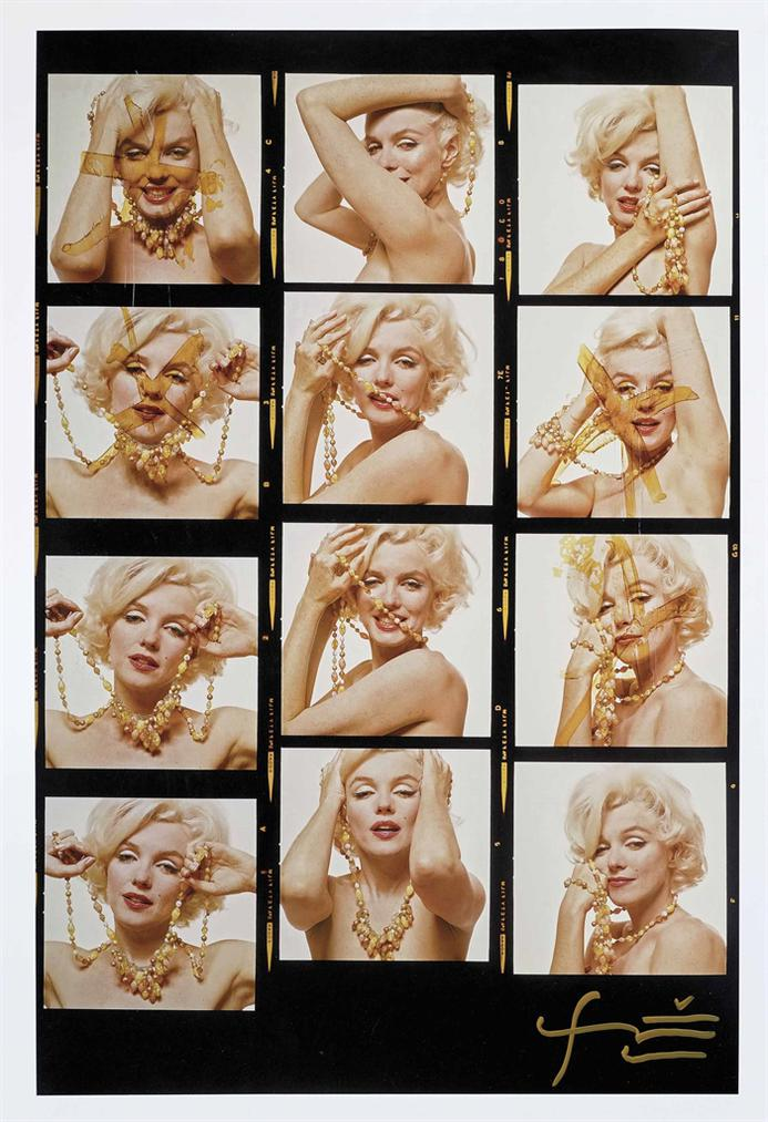 Bert Stern-Marilyn Monroe (The Last Sitting)-1962