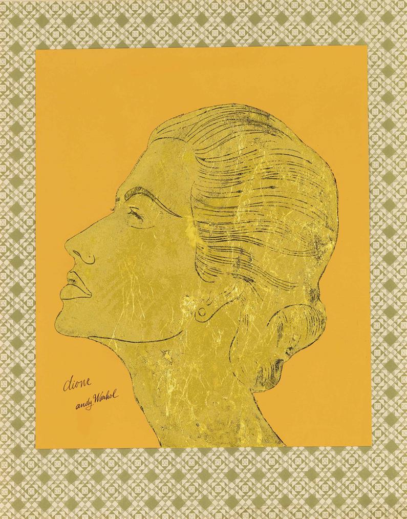 Andy Warhol-Dione (Portrait Of Dione Guffey Kenzer)-1957