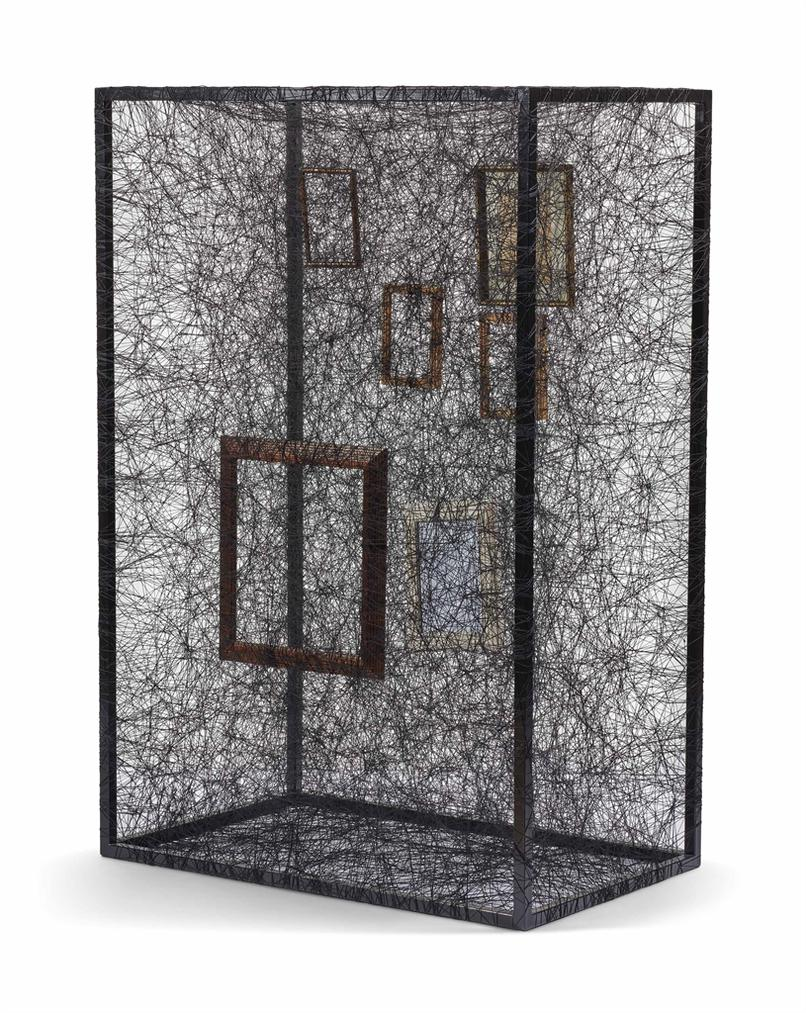 Chiharu Shiota-State Of Being (Picture Frames)-2012