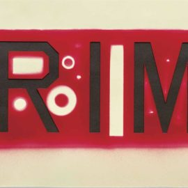 Ed Ruscha-Cutout Crime-2006
