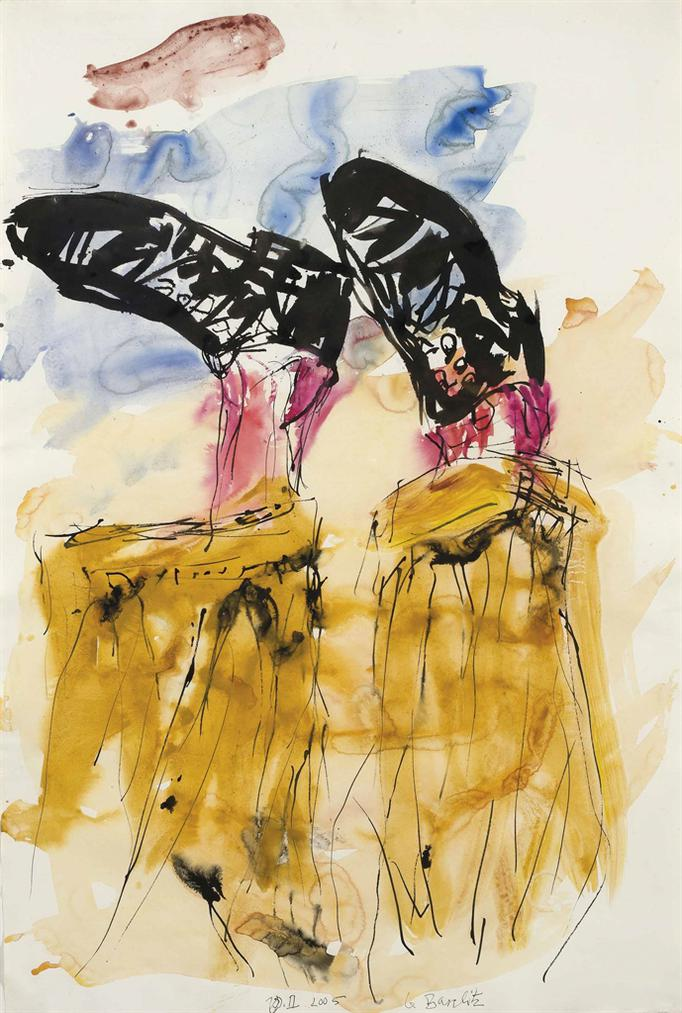 Georg Baselitz-Sans Titre-2005