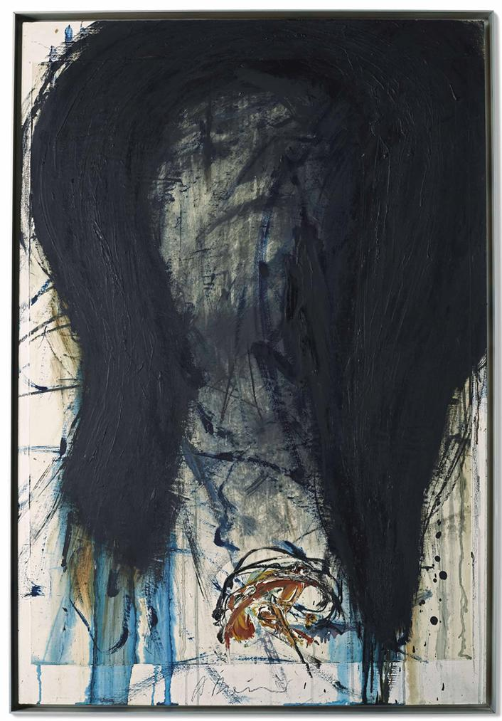 Arnulf Rainer-Death Mask (Gustave Mahler)-1984