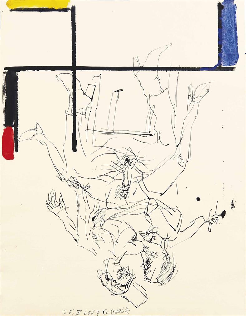Georg Baselitz-Sans Titre-2007