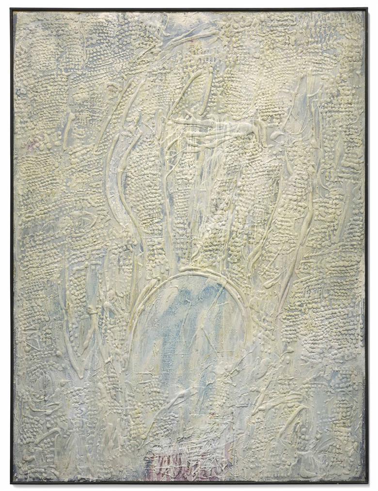 Horia Damian-Grande Composition Blanche-1961