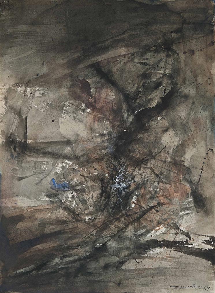 Zao Wou-Ki-Sans Titre-1964