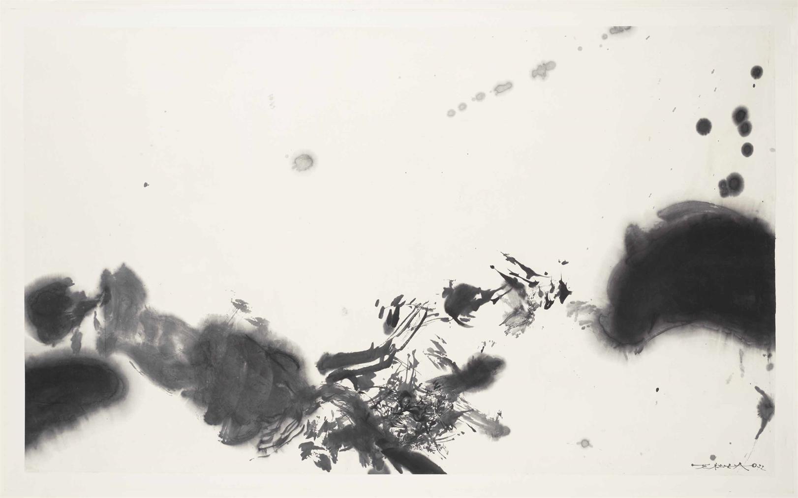 Zao Wou-Ki-Sans Titre-1972