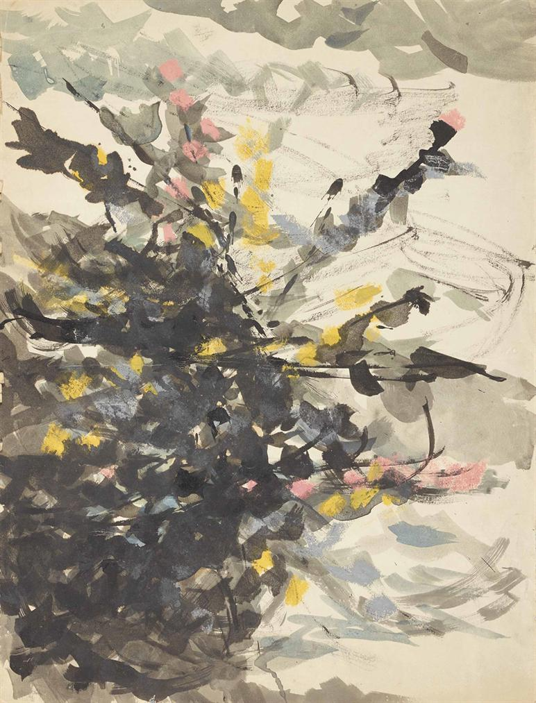 Hisaho Domoto - Sans Titre-1956
