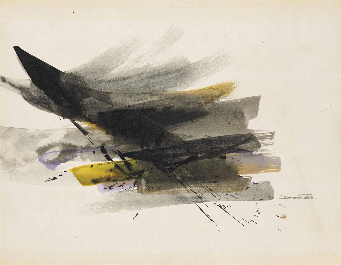 Hisaho Domoto - Sans Titre-1959