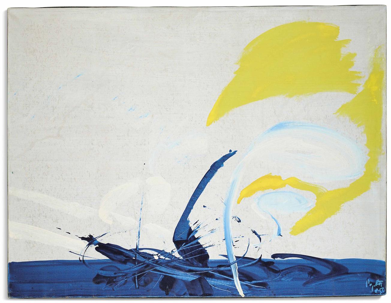Jean Degottex-Etre La Mer-1954