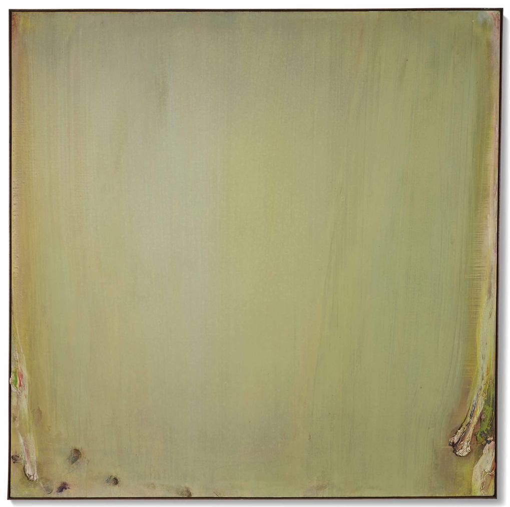 Olivier Debre-Carre Vert Pale Du Jardin-1976