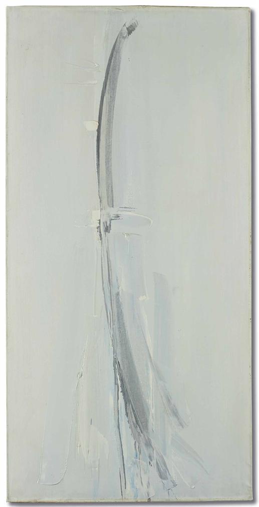 Jean Degottex-Passage Des Oiseaux-1956
