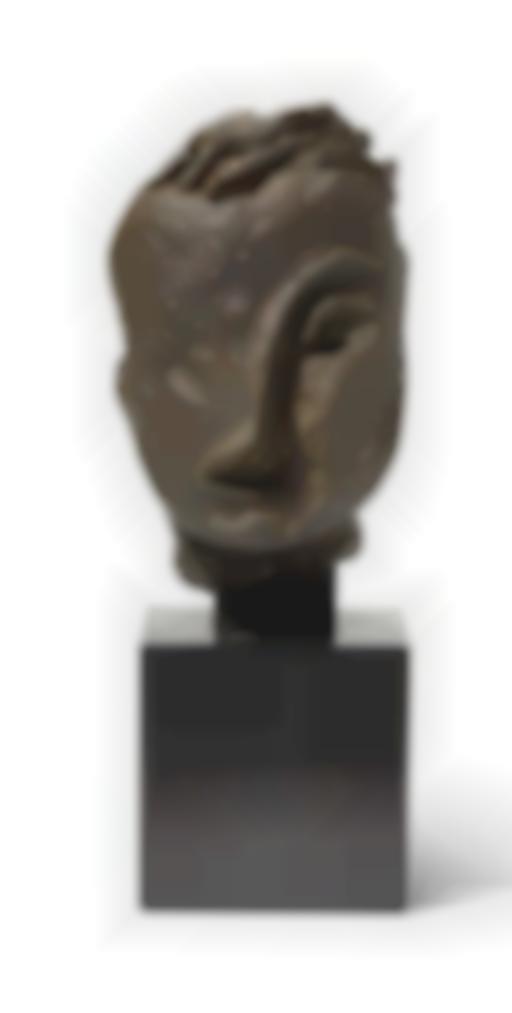 Jean Fautrier-Tete Striee-1940