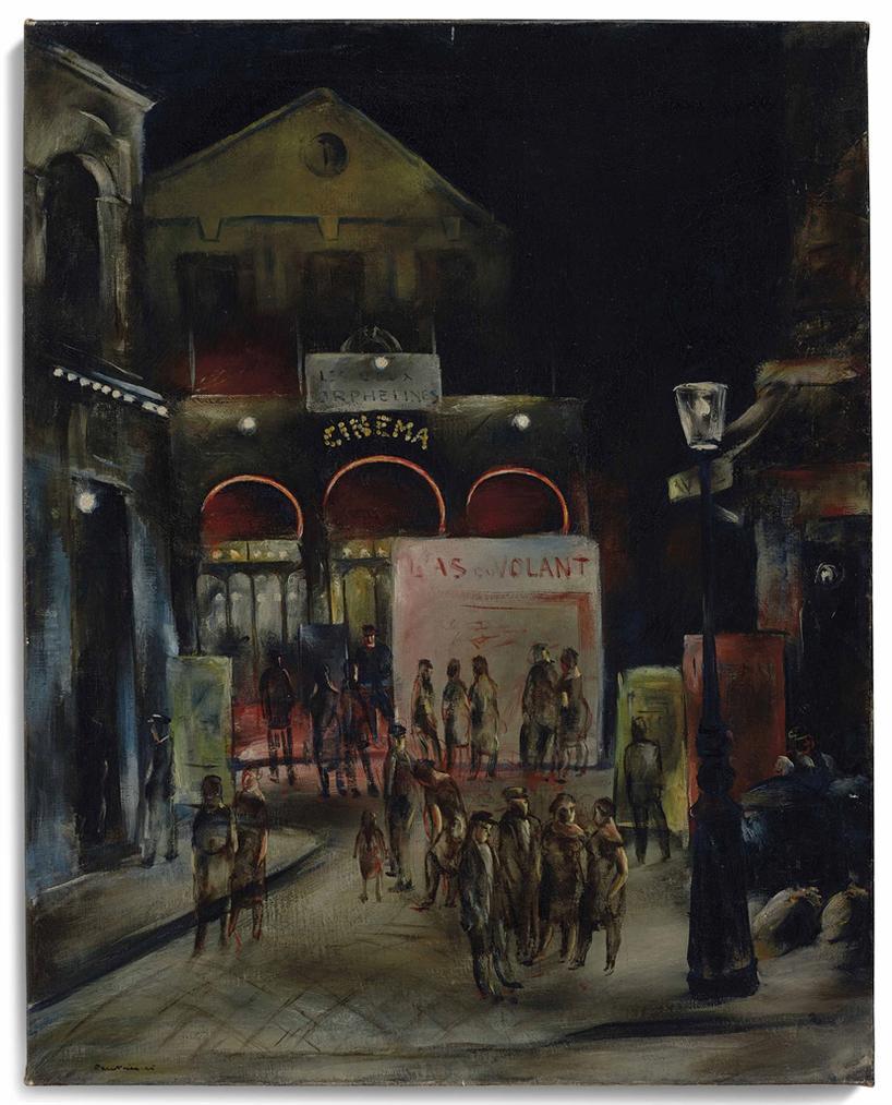 Jean Fautrier-Le Cinema-1925