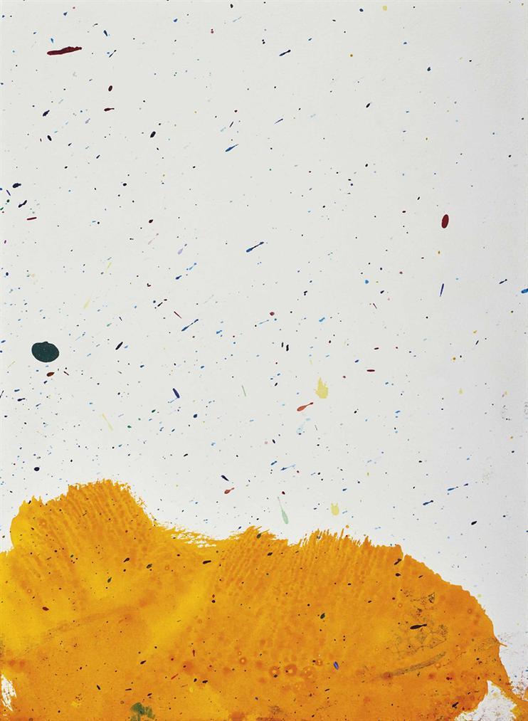 Sam Francis-Sans Titre-1964