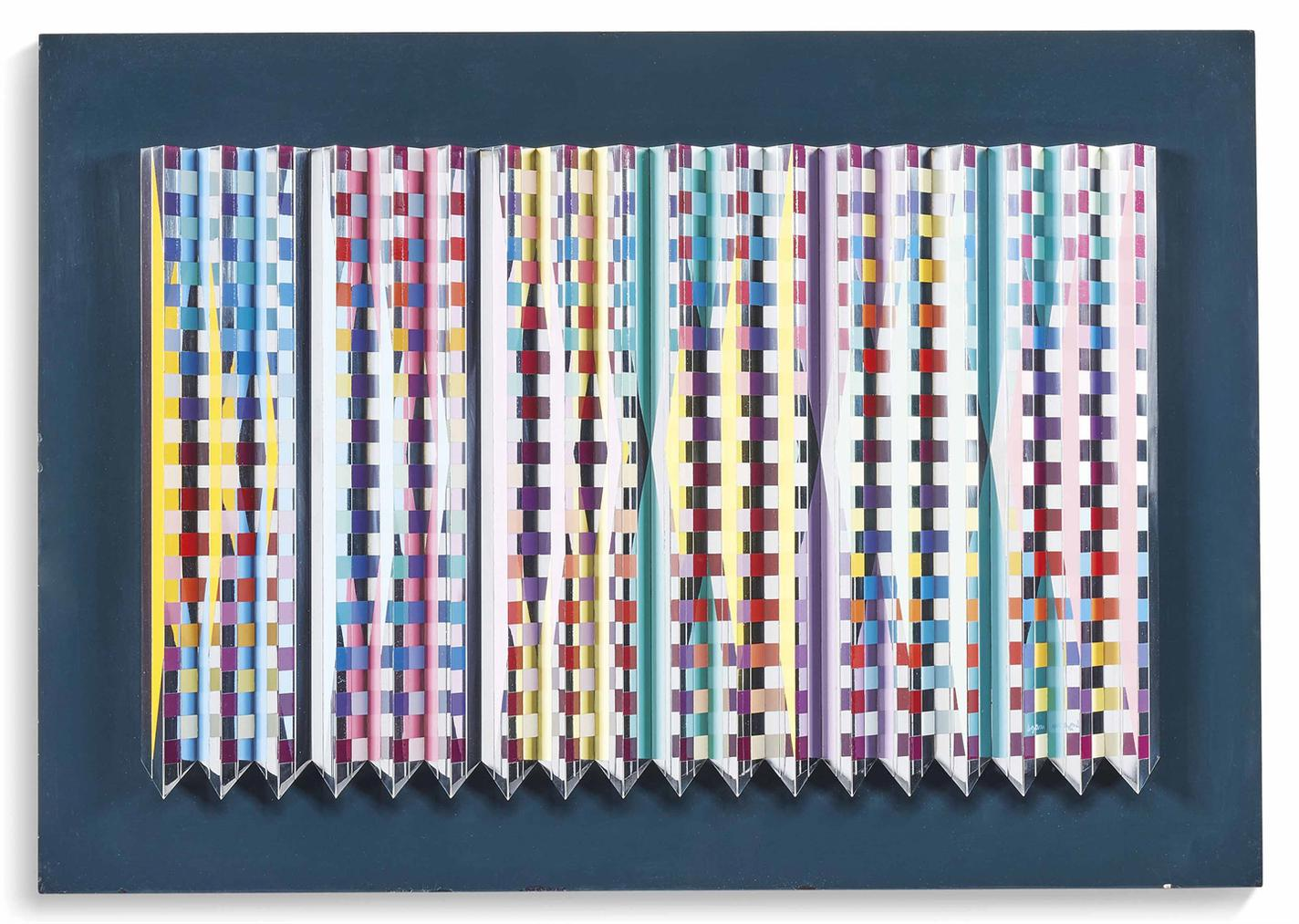 Yaacov Agam-Reflecting Space-1982