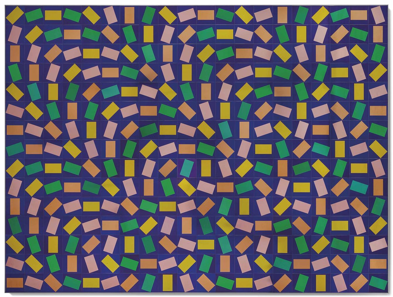 Victor Vasarely-Sans Titre-1975