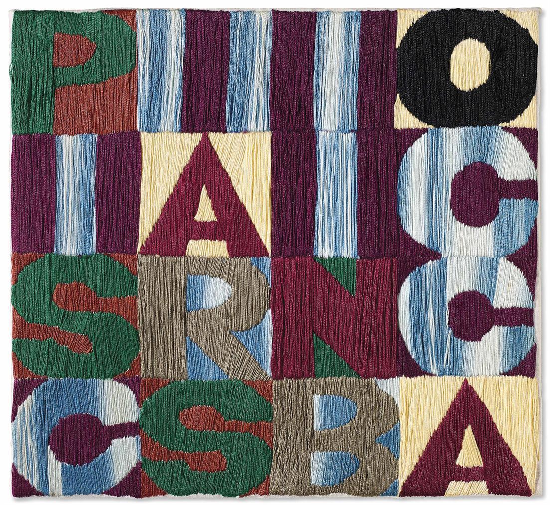 Alighiero Boetti-Pisciarsi In Bocca-1979