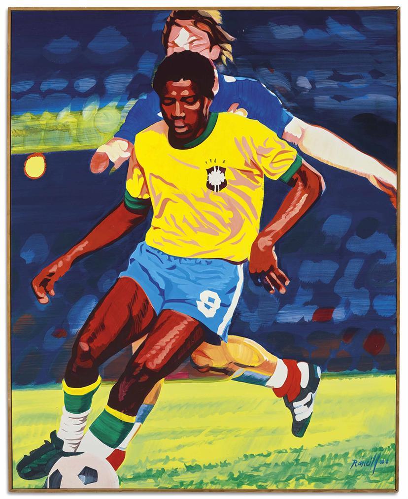 Bernard Rancillac-Maracana-1980