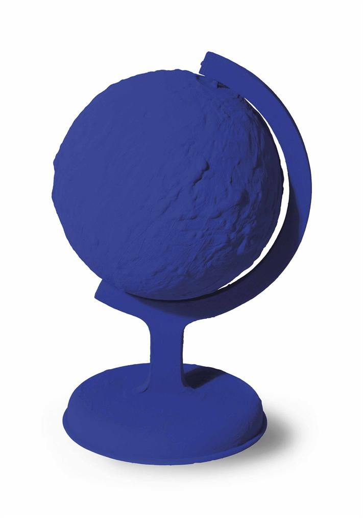 Yves Klein-Rp7 - La Terre Bleue-1957