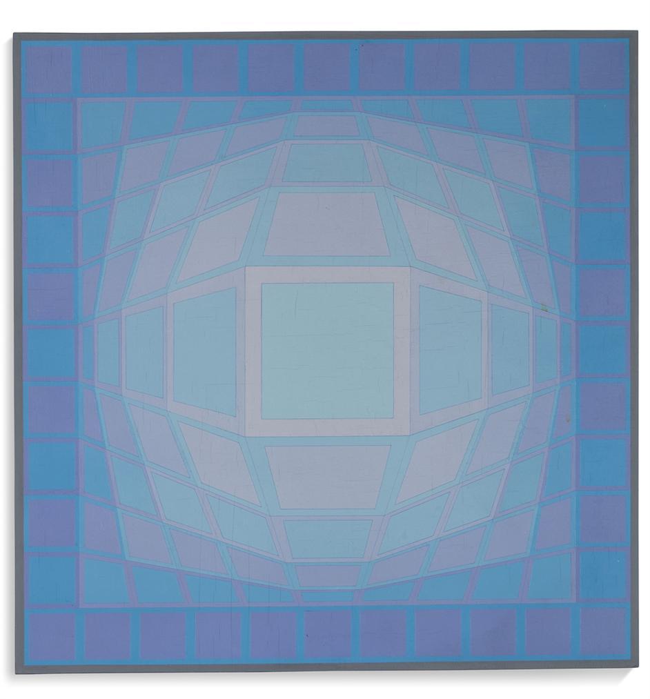 Victor Vasarely-Felhoe-1973