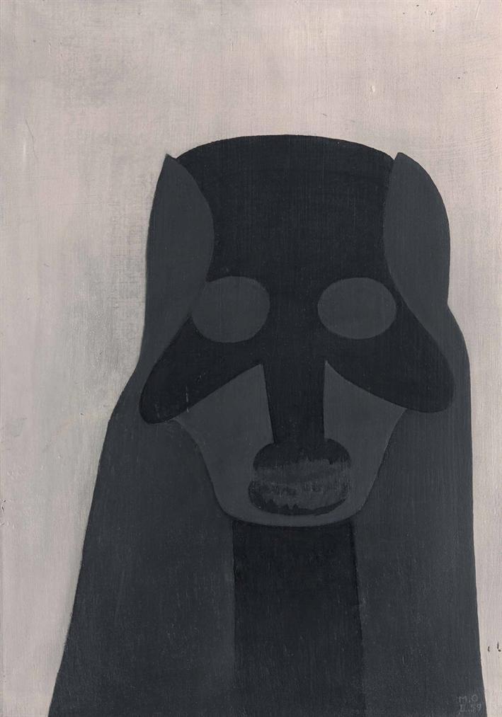 Meret Oppenheim-Dunkle Macht-1959