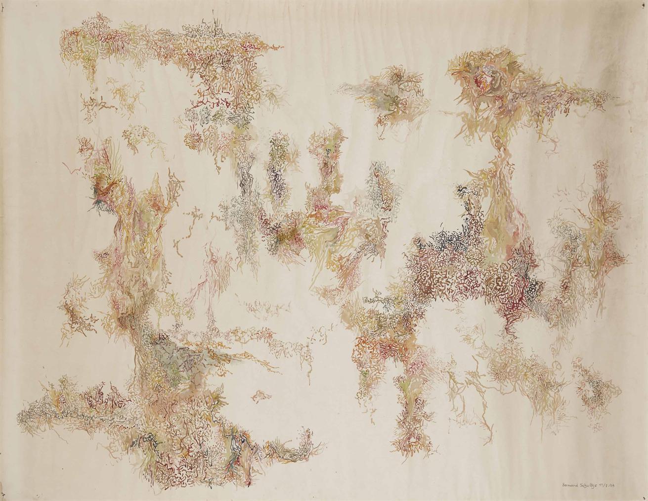 Bernard Schultze-Composition-1959
