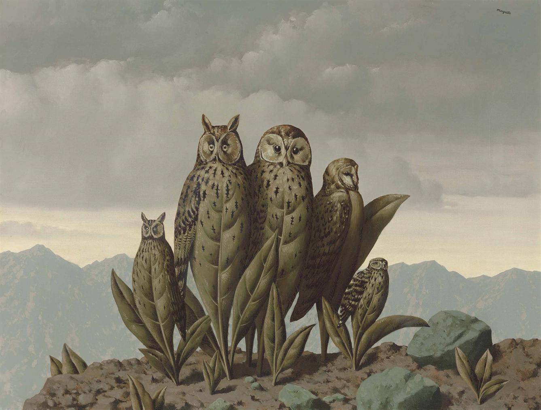 Rene Magritte-Les Compagnons De La Peur-1942