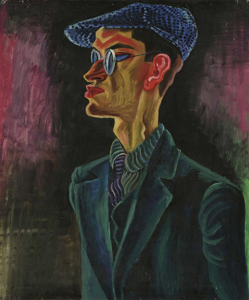 Conrad Felixmuller-Mein Bruder- Bergingenieur-1922