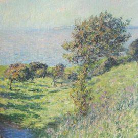 Claude Monet-Coup De Vent-1881