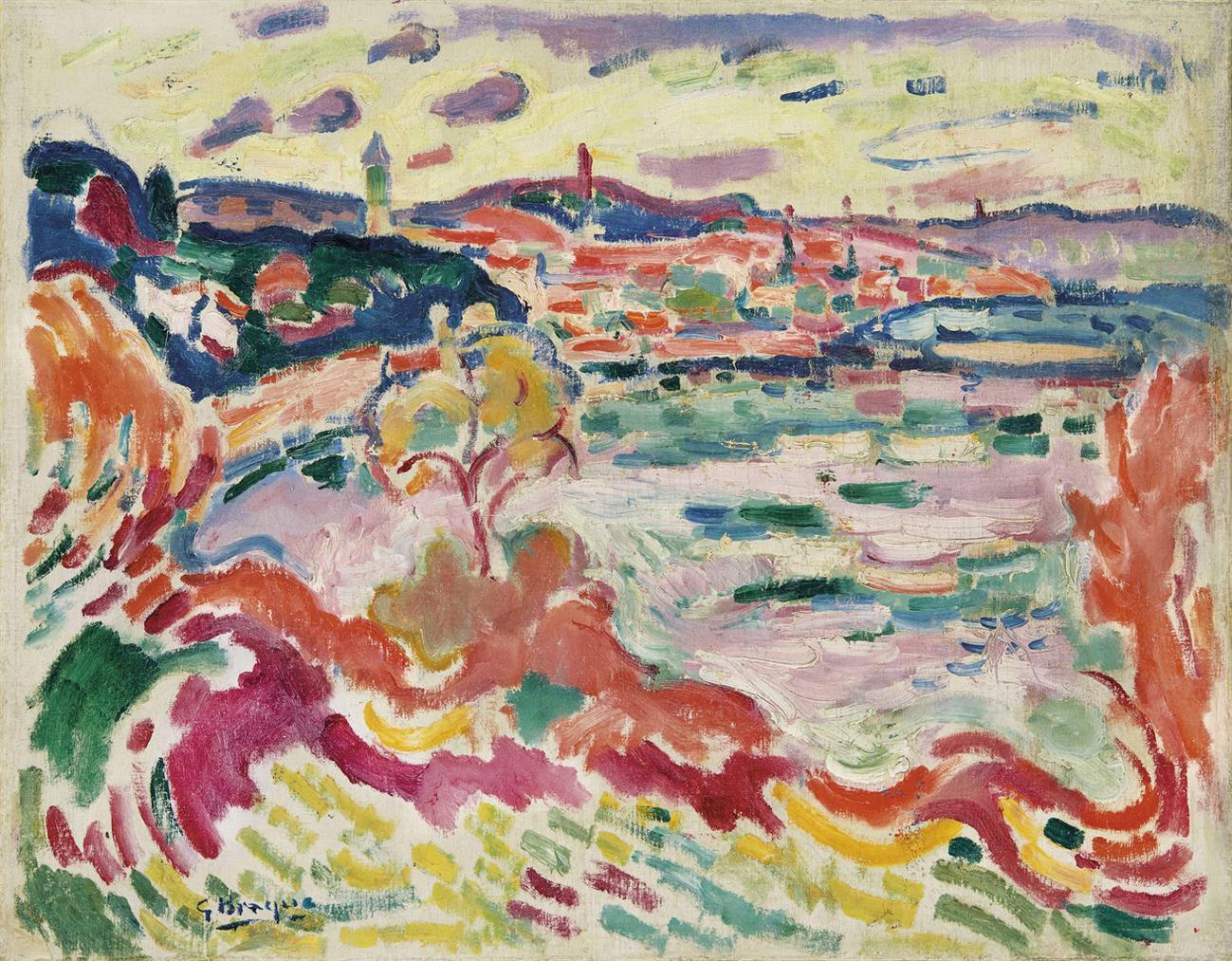 Georges Braque-Lestaque-1906