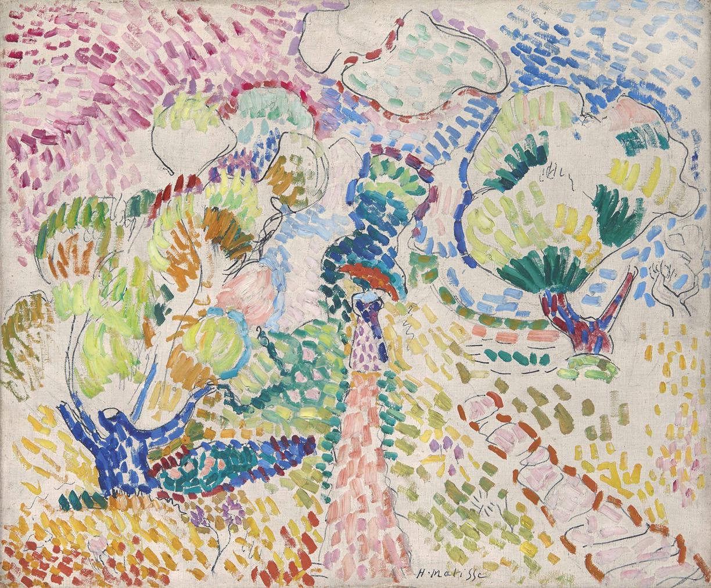 Henri Matisse-Oliviers A Collioure-1905