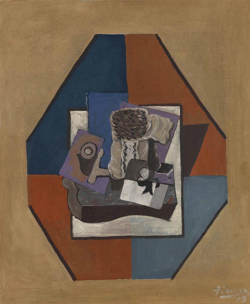 Pablo Picasso-Las De Trefle-1919