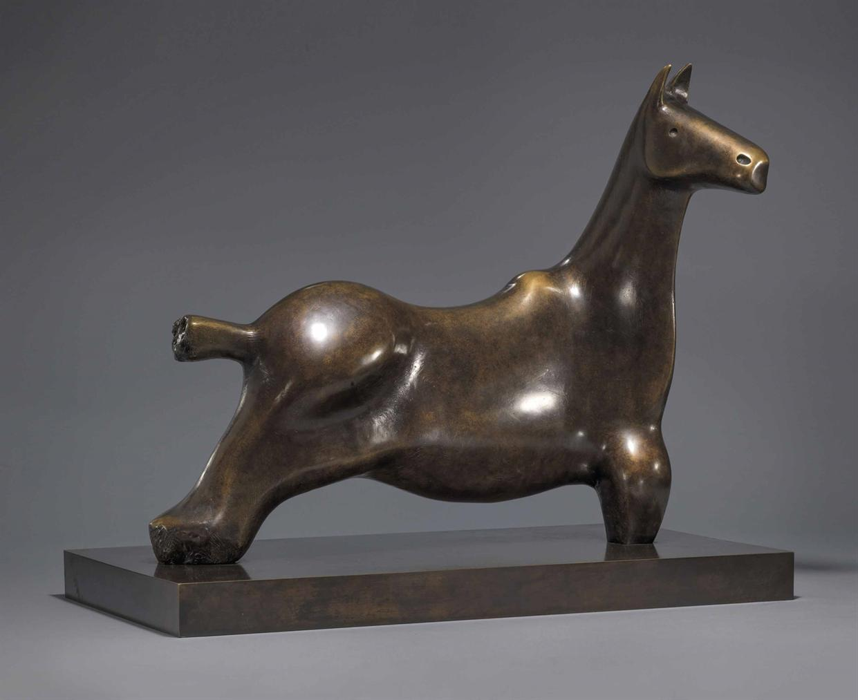 Henry Moore-Horse-1984