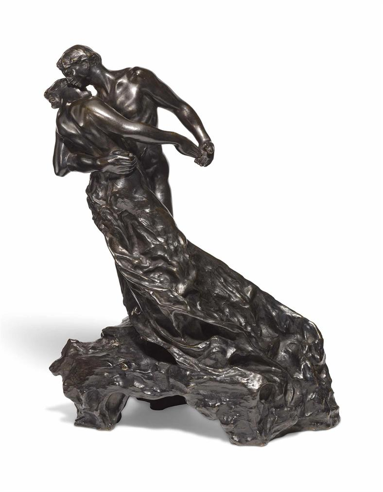 Camille Claudel-La Valse Or Les Valseurs, Grand Modele-1895