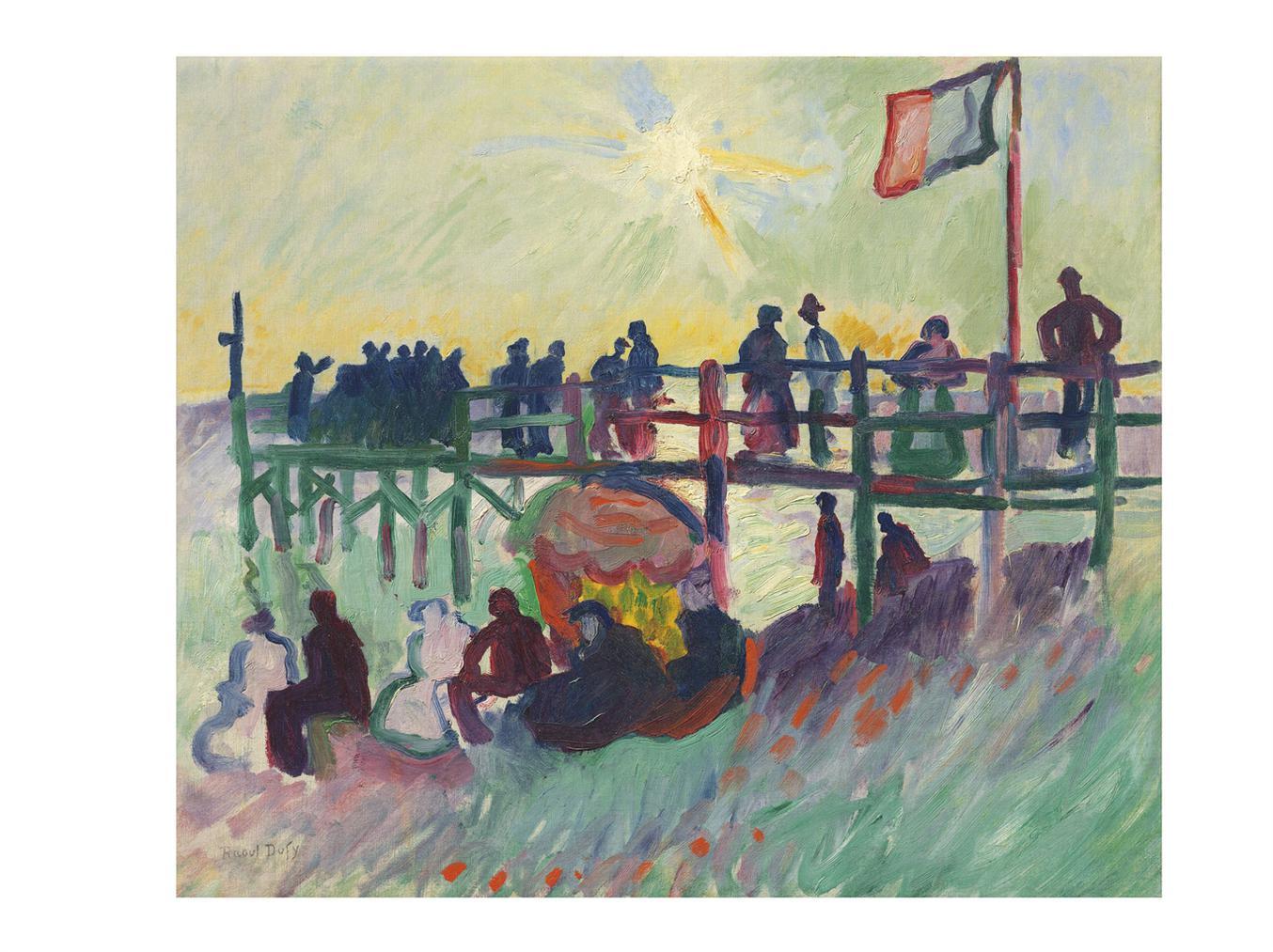 Raoul Dufy-Lestacade Au Havre-1906