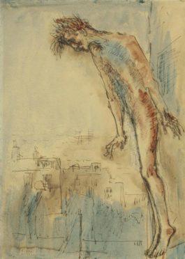 Pablo Picasso-Le Christ De Montmartre-1904