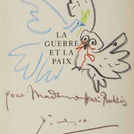 Pablo Picasso-La Guerre Et La Paix-1959