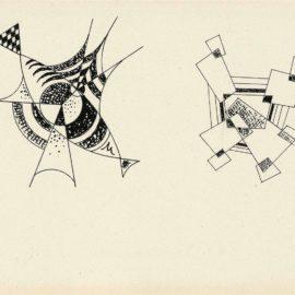 Wassily Kandinsky-Ohne Titel-1933