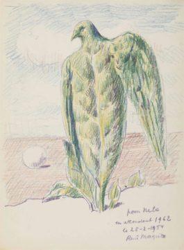 Rene Magritte-Sans Titre-1954