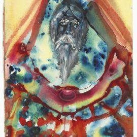 Salvador Dali-Vieillard Et Pierres Precieuses-1966
