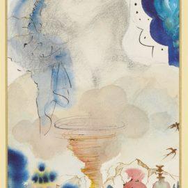 Salvador Dali-Tornade-1966