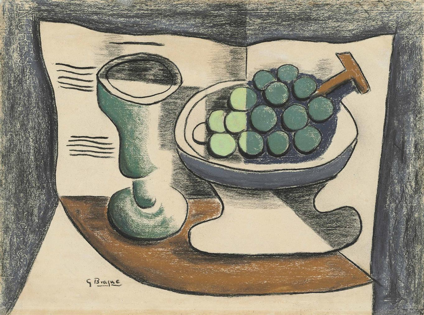 Georges Braque-Nature Morte-
