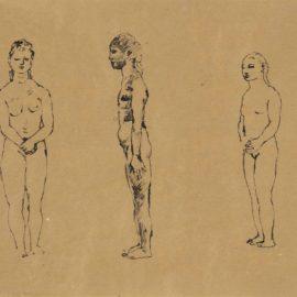 Pablo Picasso-Trois Nus-1906