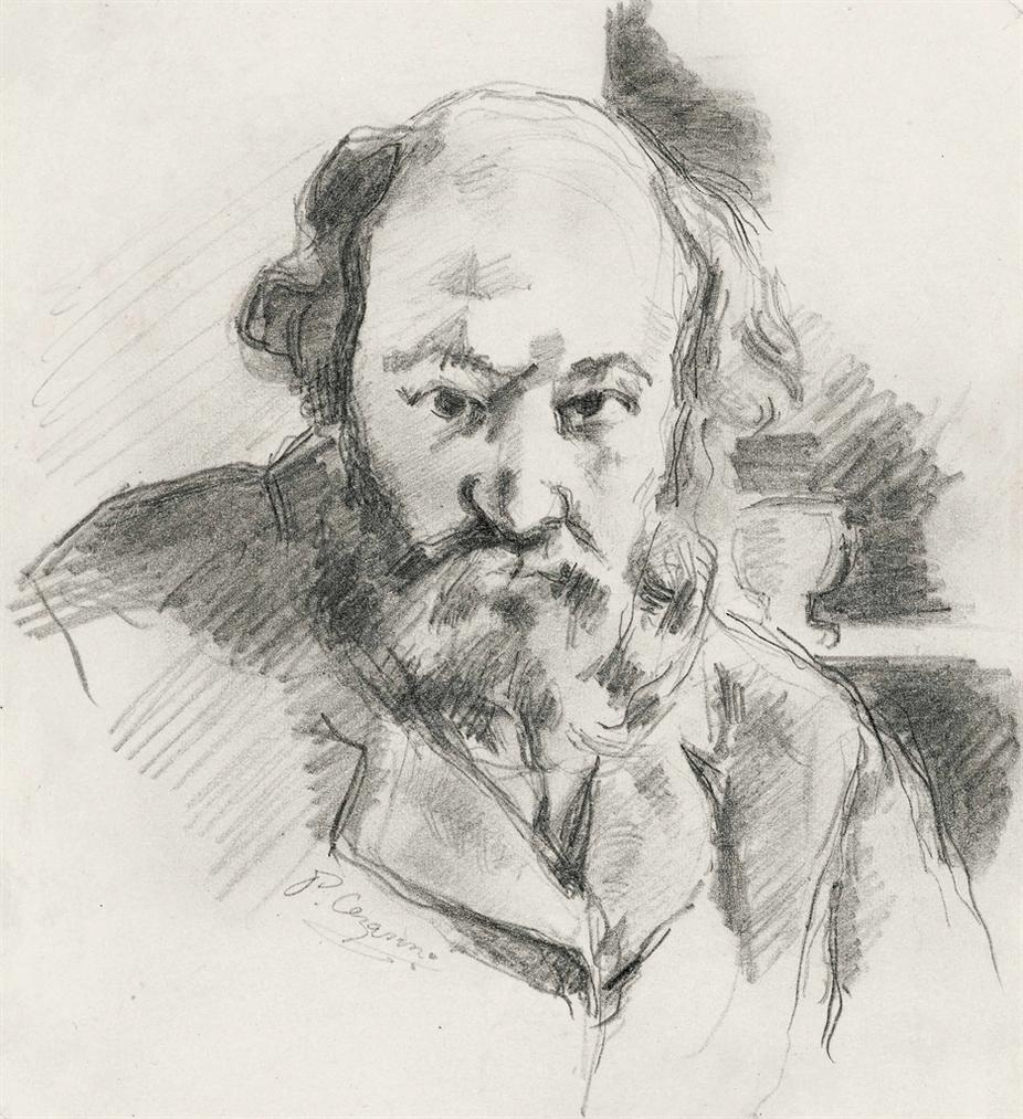 Paul Cezanne-Autoportrait-1875