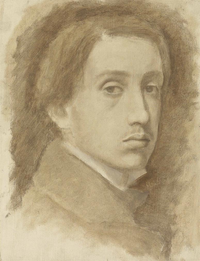 Edgar Degas-Autoportrait-1854
