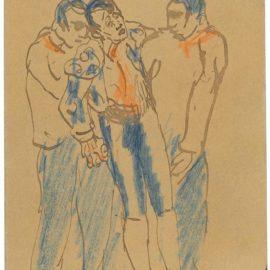 Pablo Picasso-Courses De Taureaux-1901