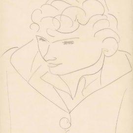 Henri Matisse-Portrait Dapres Annelies-1946